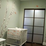 Japanese inspired modern nursery room design ideas
