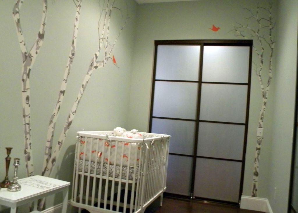 japanese inspired modern nursery room design ideas
