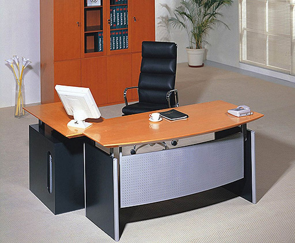 20 modern minimalist office furniture designs for Office furniture layout ideas