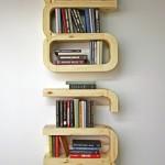 Unique DIY floating bookshelf decoration