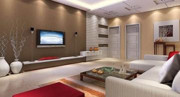 Zen style japanese inspired living room