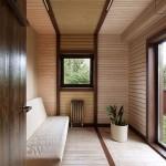 Zen style modern hallway decorating ideas