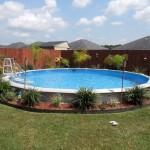 above ground circular tiny swimming pools