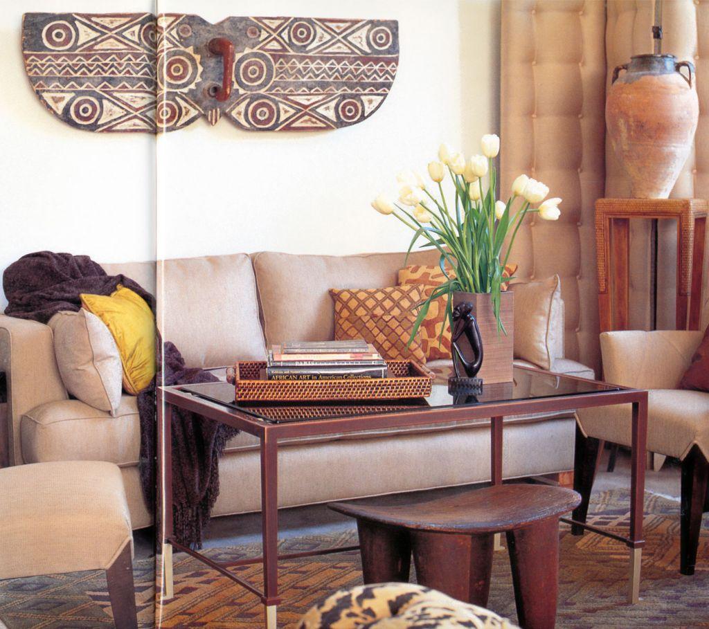 20 natural african living room decor ideas for Sitting room decor