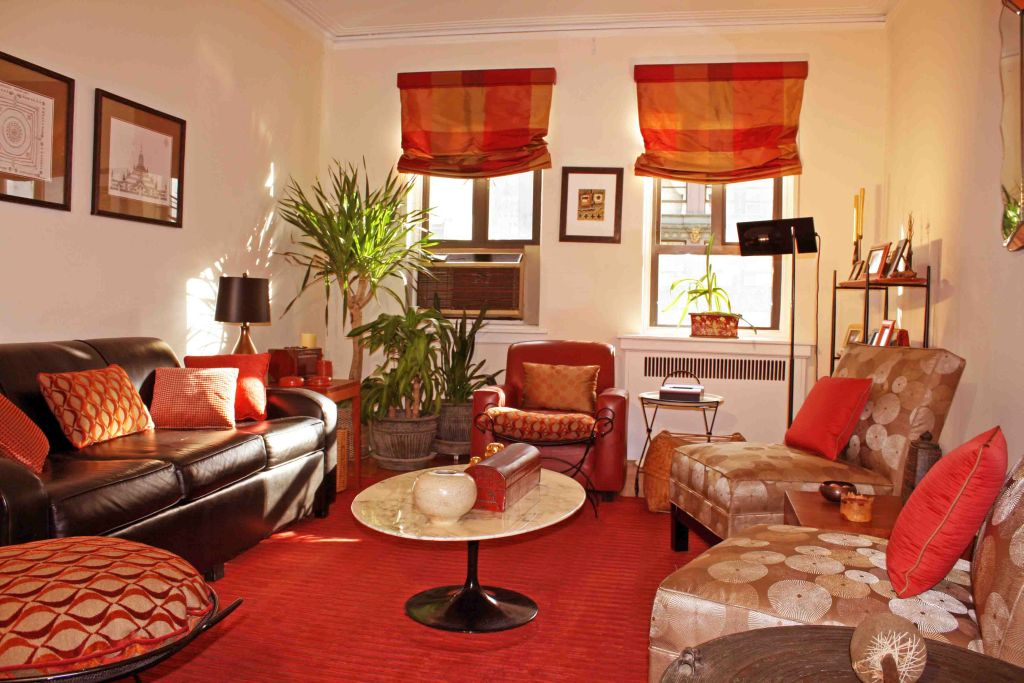 20 natural african living room decor ideas for Red living room ideas