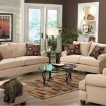 african living room decor with beige furniture