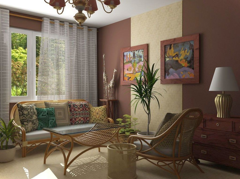20 natural african living room decor ideas for Room decoration pics