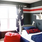 another stars and stripes for boys blue room