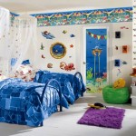 aquatic cool painting ideas for bedrooms