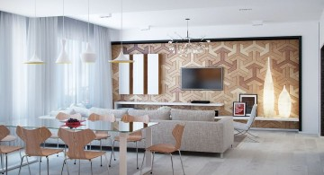 art deco interior textured wall designs