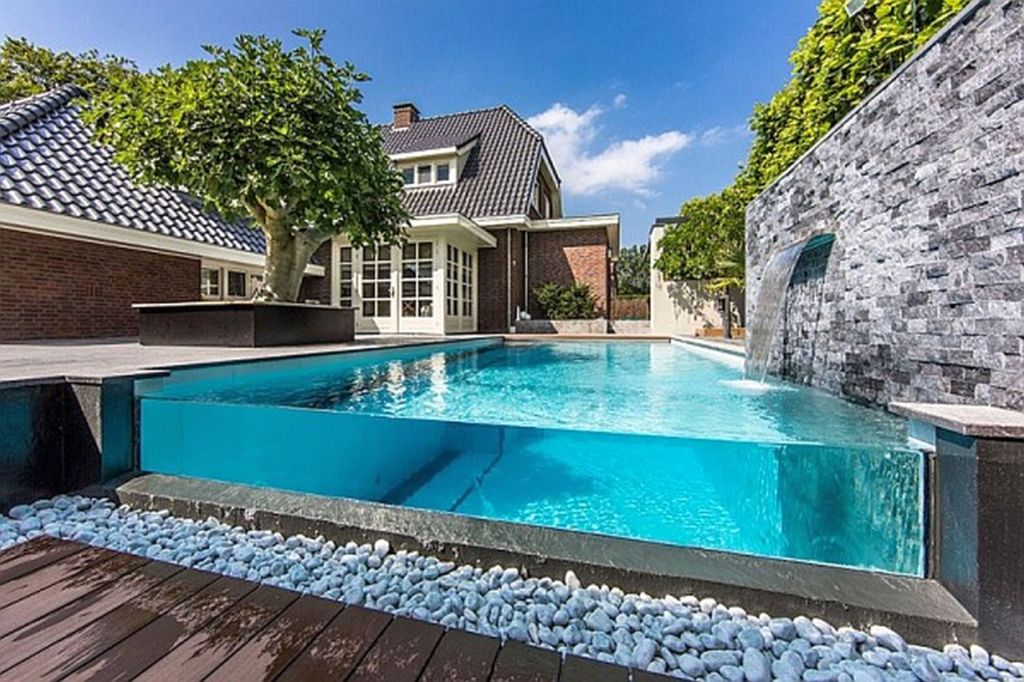 awesome backyard pools awesome above ground best backyard swimming pool designs