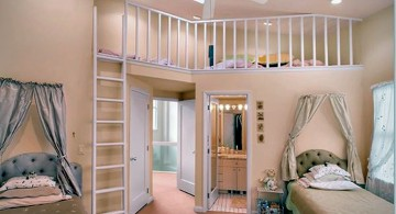 awesome rooms for girls with twin beds and hidden seating
