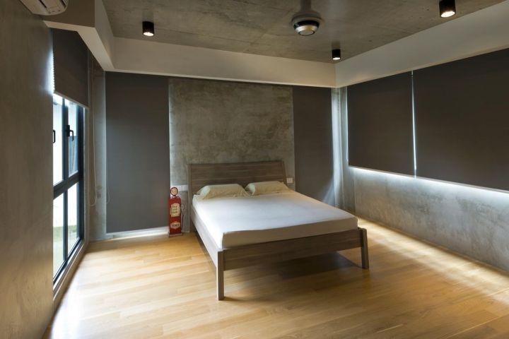 Bare And Industrial Zen Bedroom Ideas