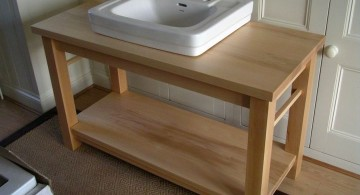 bare stand alone kitchen sink