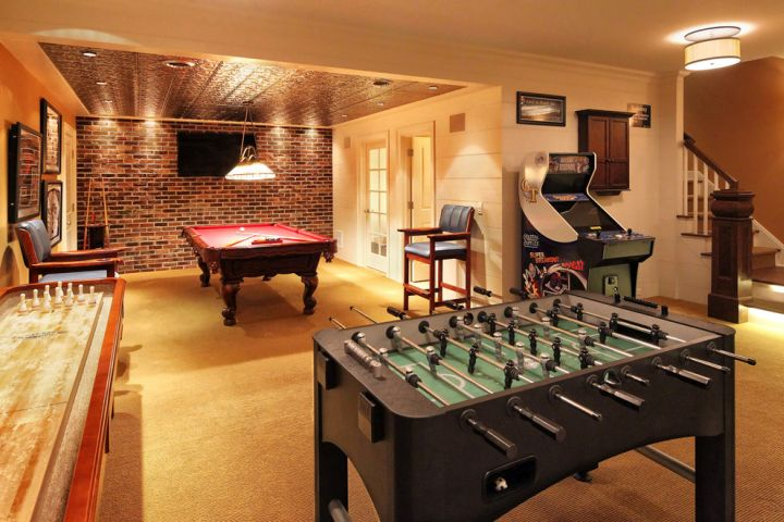 18 delightful entertainment room ideas for modern house for Large home plans for entertaining