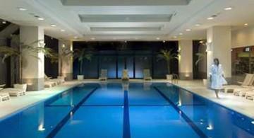 basement indoor swimming pool