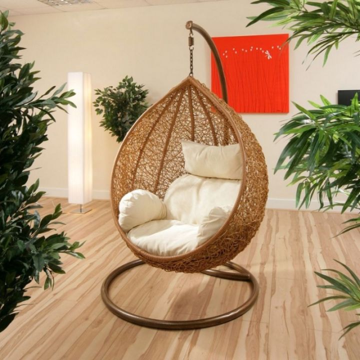 basic bedroom swing chair