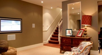 beautiful and simple lighting ideas for basement
