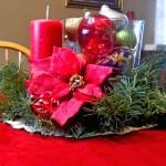 beautiful bowl centerpiece ideas for Christmas