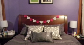 bedroom decoration for valentines day