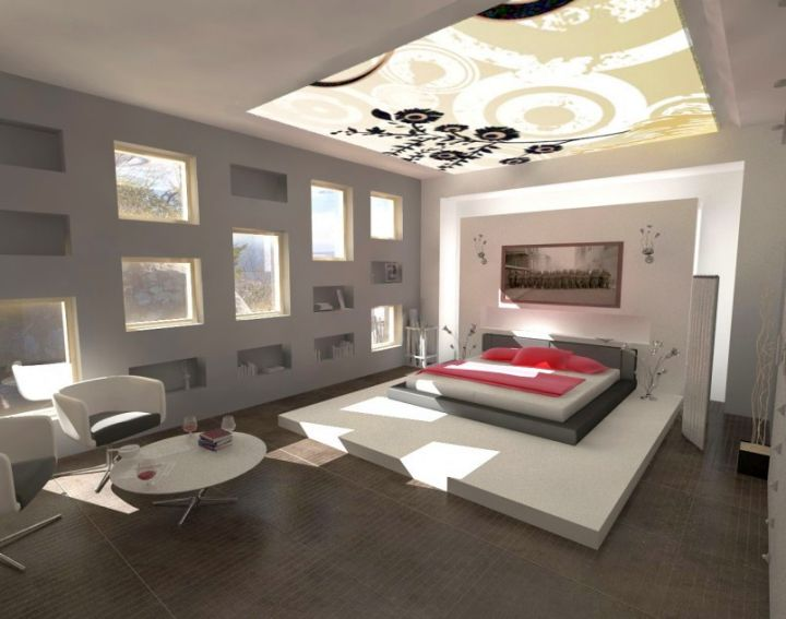 bedroom wall panel design ideas for spacious rooms