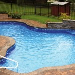 best backyard swimming pool designs with free formed pool
