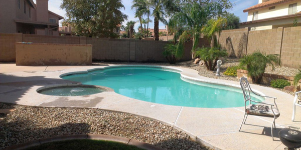 Best Backyard Swimming Pool Designs With Tall Fences
