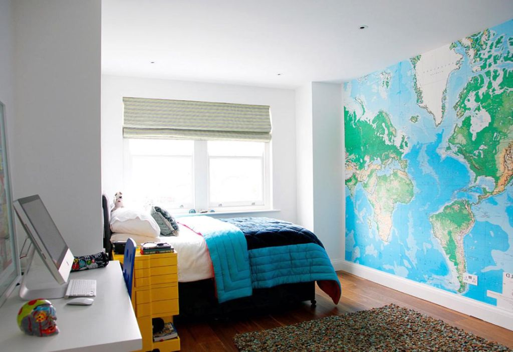 19 cool painting ideas for bedrooms you 39 ll love for sure for Cool small bedroom designs