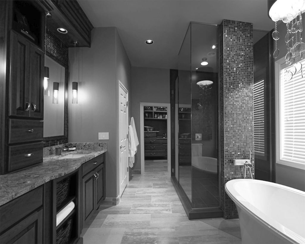 Gallery for Modern Black Bathrooms Ideas