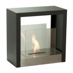 black freestanding fireplaces designs