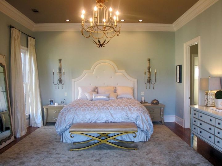 20 deluxe blue and gold bedroom designs - Gold bedroom ideas ...