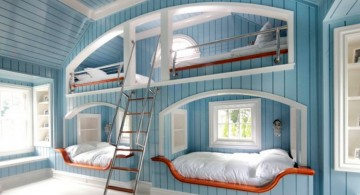 blue cave unique beds for girls