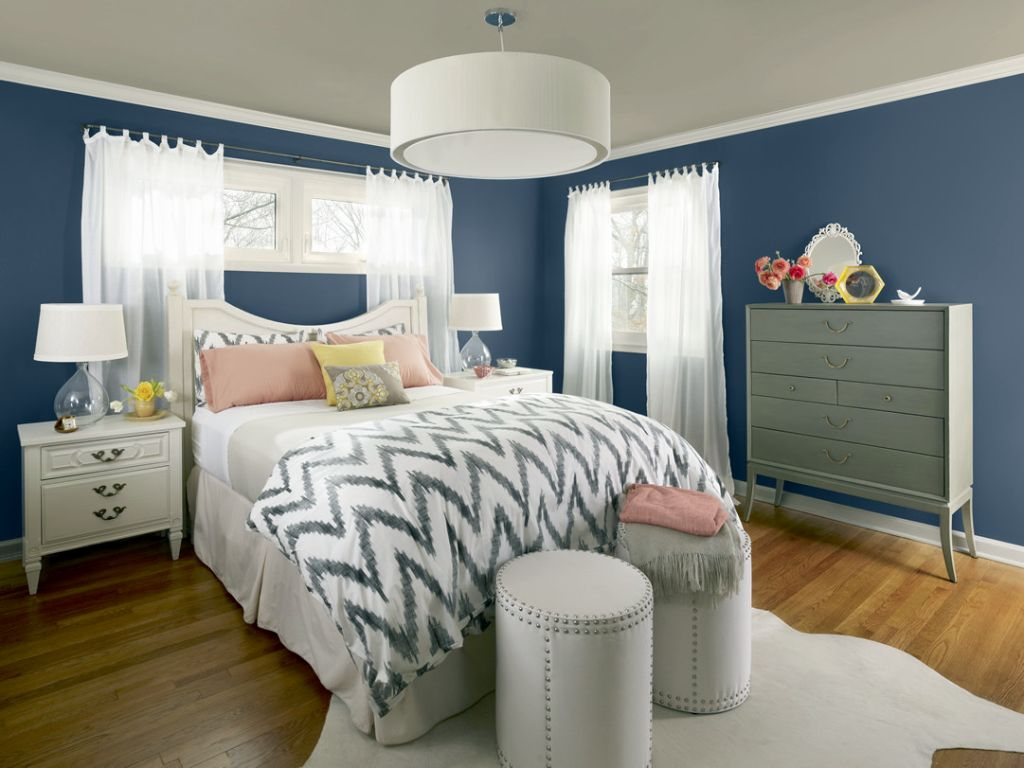 All soothing and relaxing paint colors for bedrooms for Paint shades for bedroom