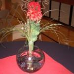 bowl centerpiece ideas with tall flower