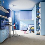 boys blue room for limited space