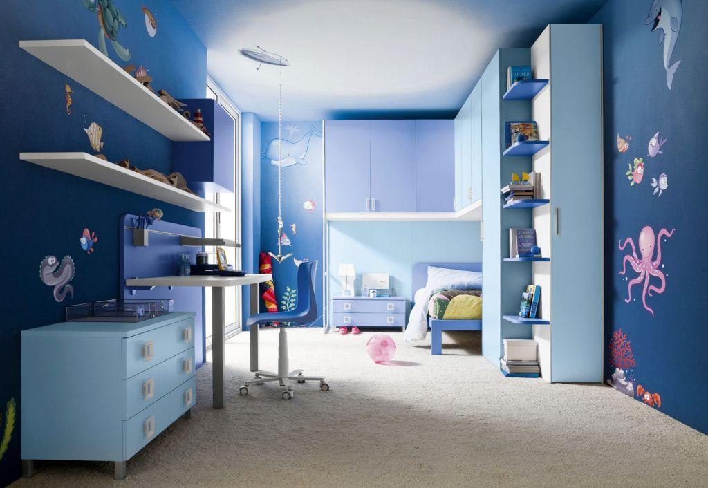 20 Refreshing Boys Blue Room Design Ideas