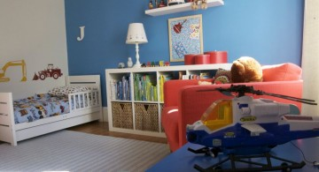 boys blue room for toddlers