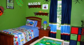 boys room paint ideas in green