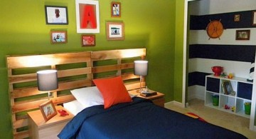 boys room paint ideas in moss green