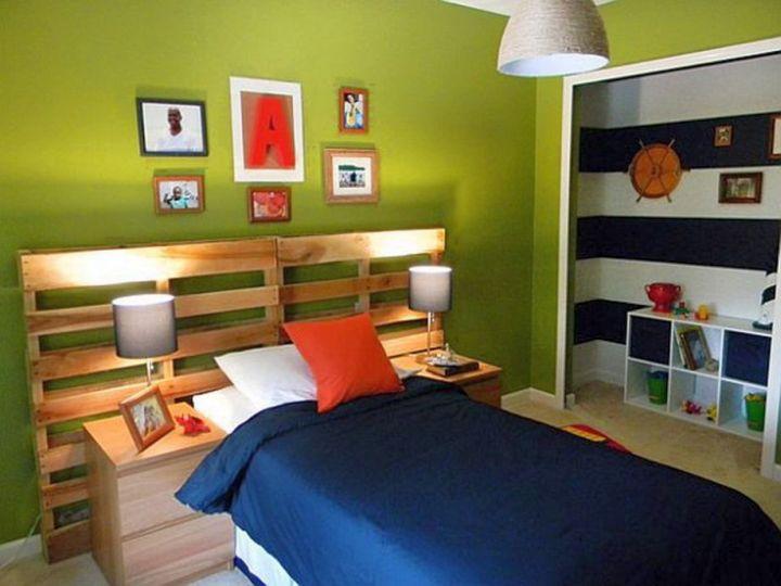 boys room paint ideas in moss green
