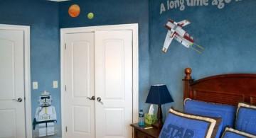 boys room paint ideas in star wars theme