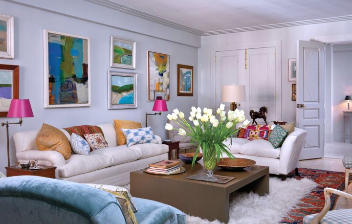 bright and colorful art deco living rooms - Deco Living Room