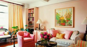bright and colorful pastel-colored room designs