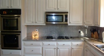 broken white with small knobs ideas for cabinet doors