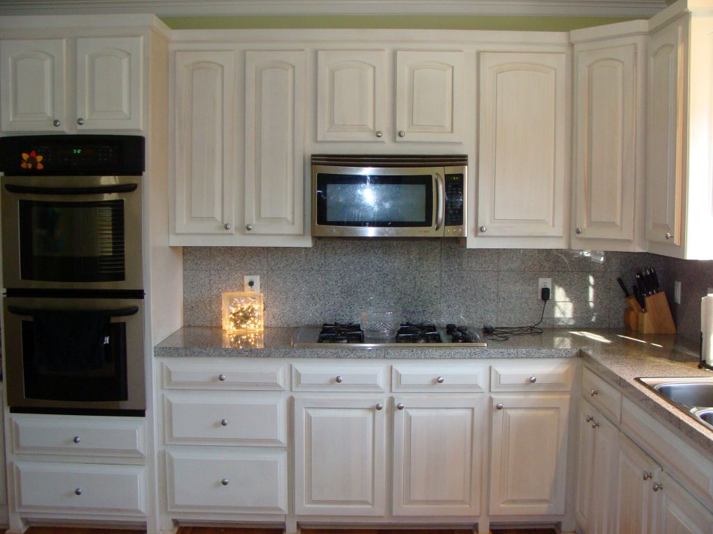 Ideas For Redoing Stained Kitchen Cabinets