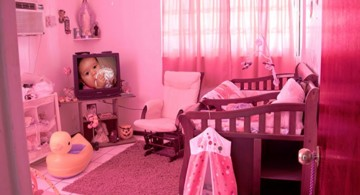 bubblegum pink baby room ideas