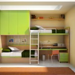 built in cool bunk bed designs