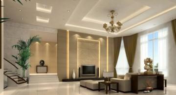 ceiling design ideas for living room