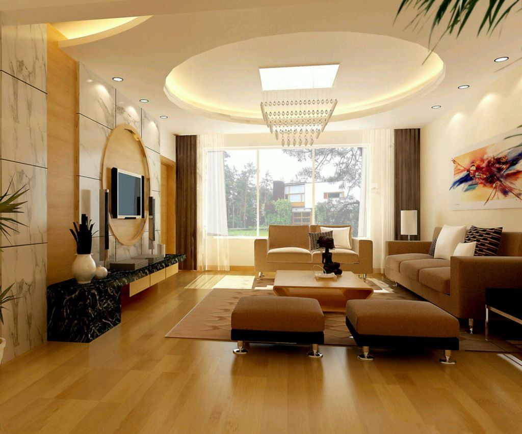 Ceiling Design Ideas For Living Room With Futuristic