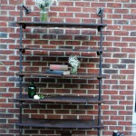 cheap and easy DIY vintage industrial bookcase designs